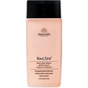 Alessandro Nail Spa - Nail Polish Remover (Rose Scented) 135ml
