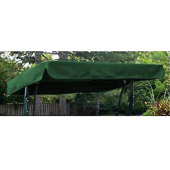 Green Water Resistant 3 Seater Replacement Canopy voor Tuin hangmat Swing Seat