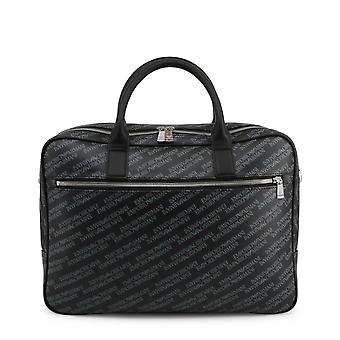 Emporio Armani Original Men All Year Briefcase - Black Color 39673