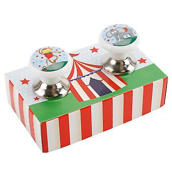 CGB Giftware Circus Drawer Pulls (Pack of 2)