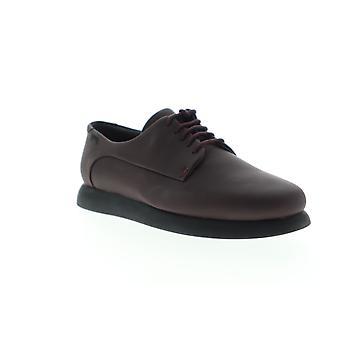 Camper måndag Womens Brun svart läder Livsstil Sneakers Skor