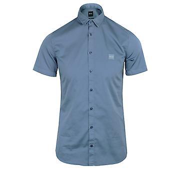 Hugo boss men's blue magneton_ 1 shirt