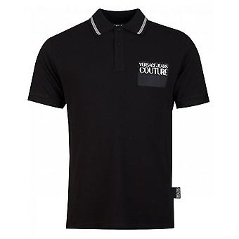 Versace Jeans Couture Patch Logo Polo Shirt