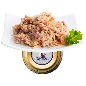 Nuevo Delicate Terrine Of Turkey And Beef Fillets (Cats , Cat Food , Wet Food)