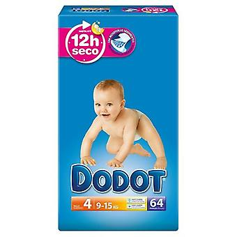 Dodot Dry Baby Diapers Size 4 of 62 Units (Baby & Toddler , Diapering , Diapers)