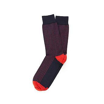 Tresanti Small Square Patterned Mens Socks