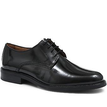 Jones Bootmaker Mens Polished Leather Derby Shoe