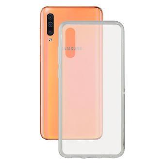 Mobile cover Galaxy A70 KSIX Flex Transparent