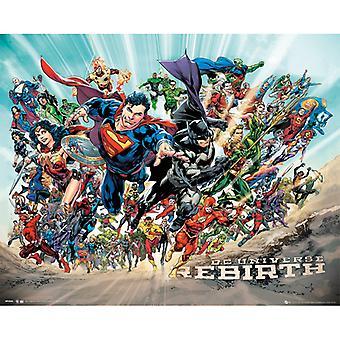 DC Universe Uudestisyntyminen Mini Juliste