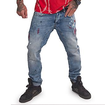 YAKUZA Men's Jeans Shard Straight