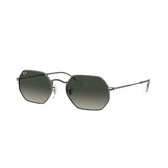 Ray-Ban RB3556N 004/71 Gunmetal/Grey Gradient Dark Grey Sunglasses