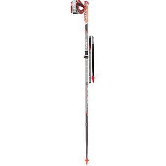 Leki Micro Trail Vario Carbon Trail Running Pole (Pair) - 120cm - Grey