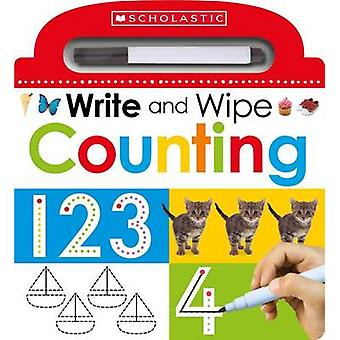 Write and Wipe - Counting by Scholastic - 9780545903394 Book