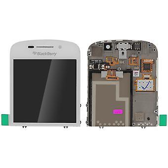 Pantalla LCD BlackBerry Q10 + Táctil ORIGINALES – Blanco