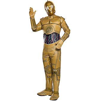 Aikuisten C-3PO Puku - Star Wars
