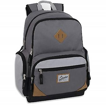 Trailmaker Gray Duo Compartment Backpack with Laptop Sleeve