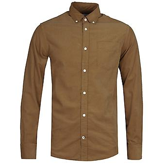 NN07 5723 Levon Corduroy Sand Brown Long Sleeve Shirt