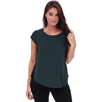 Women's Only Vic Short Sleeve Top en vert