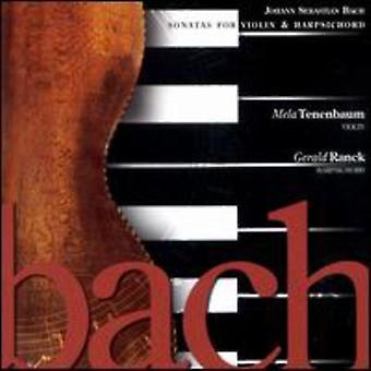 Bach - Bach: Sonatas for Violin & Harpsichord [CD] USA import