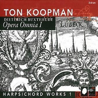 D. Buxtehude - Buxtehude: Harpsichord Works, Vol. 1 [CD] USA import