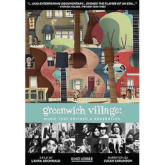 Greenwich Village: Music That Defined a Generation [DVD] USA import
