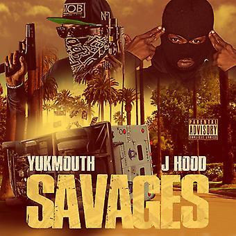 Yukmouth & J Hood - Savages [CD] USA import
