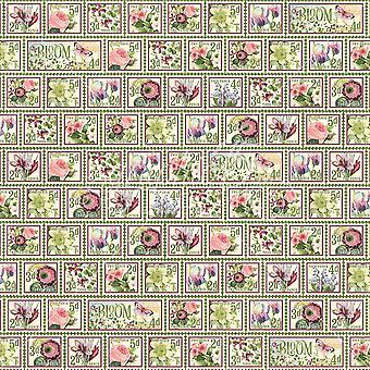 Graphic 45 Petal Postage 12x12 Inch Paper Pack