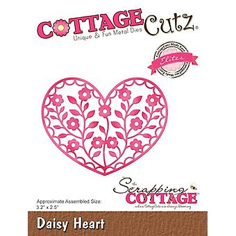 Scrapping Cottage Daisy Heart