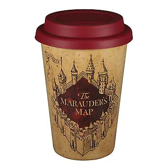 Harry Potter Travel Mug The Marauders Map Logo Huskup new Official