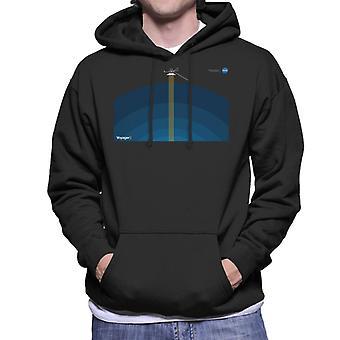 NASA Voyager2 Transmission Men's Hooded Sweatshirt