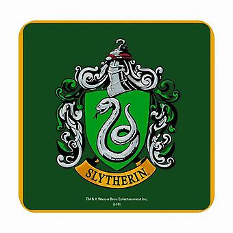 Harry Potter Coaster Slytherin House Crest new Official Green