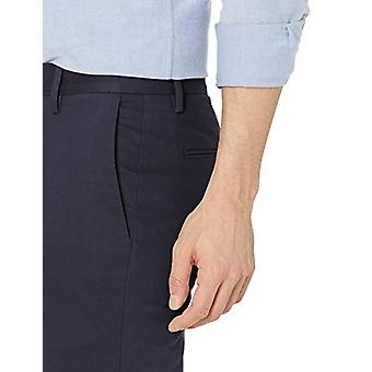 Goodthreads Men's Skinny-Fit Wrinkle Free Dress Chino Pant, Navy, 32W x 32L