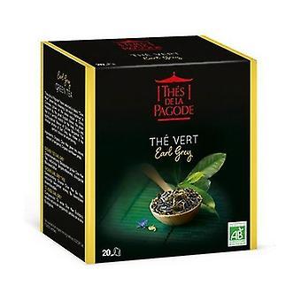 The Vert Earl Gray Bio Variety: Chun Mee Origin: China 20 infusion bags