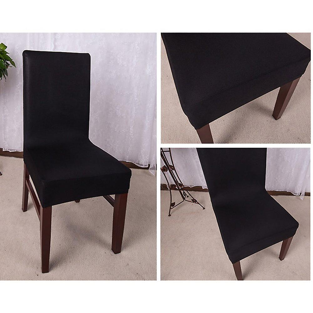 Family Chair Cover White Chair Protector Black