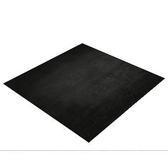 BRESSER Flatlay Hintergrund für Legebilder 40x40cm schwarzes Holz