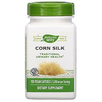 Nature-apos;s Way, Corn Silk, 1 200 mg, 100 capsules végétaliennes