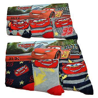 Disney Cars Socks 3-pack - McQueen