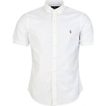 Polo Ralph Lauren Short Sleeved Slim Fit Oxford Shirt