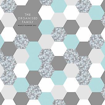 Otter House 2021 Wall Calendar-the Organised Family (geometrics)