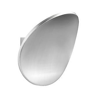 1 let indendørs Vægoplysere poleret aluminium