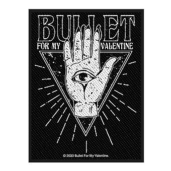 Bullet For My Valentine Patch All Seeing Eye Band Logo new Official Black
