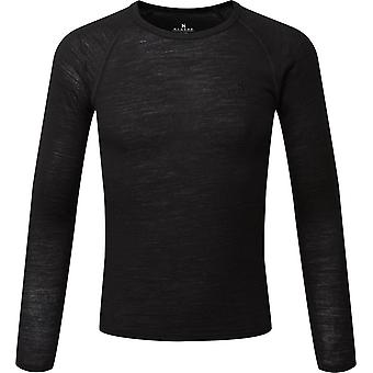 Hi-Gear Kids' Merino Langærmet Top Black
