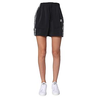 Adidas Fn2774 Women's Black Polyester Shorts