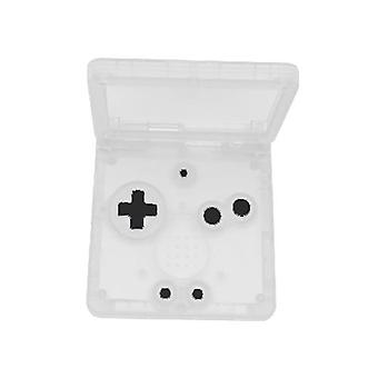 Replacement housing shell for game boy advance sp gba nintendo - clear | zedlabz