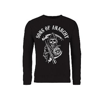Sons Of Anarchy Skull Reaper Knitted Sweater/ Jumper