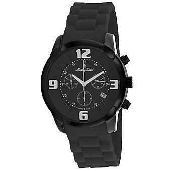 Mathey Tissot Men's Classic Black Dial Watch - H511CHN