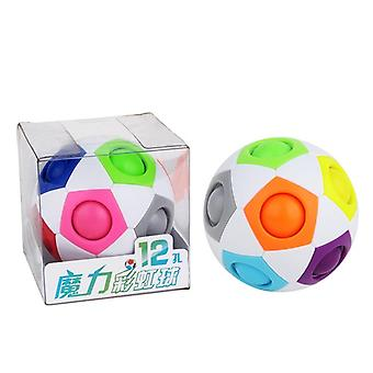 Fun Creative Spherical Magic Cubes - Learning Education Puzzle Toys