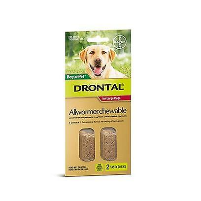 Drontal Chewable 35kg 2pack