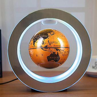 Round Led, World Map Floating Globe Magnetic Levitation Light, Anti Gravity