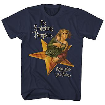 Smashing Kurpitsat T-paita Mellon Collie Infinite Sadness Album Art The Smashing Kurpitsat Paita